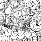 Kolibrie in fantasietuin Royalty-vrije Stock Afbeeldingen