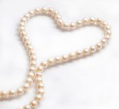 kolii perła Obraz Royalty Free