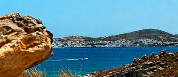 Kolimbithres beach Stock Image