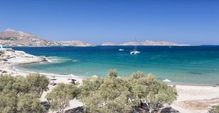 The Kolimbithres beach, Paros Royalty Free Stock Images
