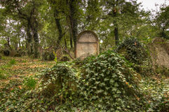 KOLIN,捷克- 2008年9月7日-老历史坟茔 免版税图库摄影