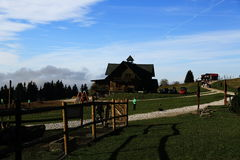 Kolinska cottage, Pec pod Snezkou, the giant mountains (czech: Krkonose, Pec pod Snezkou), the northern part of the Czech Republic Stock Photos