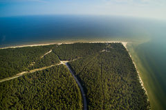 Kolka cape, Baltic sea, Latvia. Stock Photography