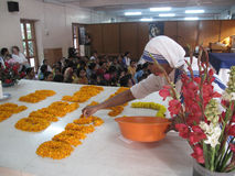 Усыпальница матери Тереза, Kolkata Стоковое Изображение RF