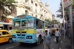 Kolkata autobus Fotografia Stock