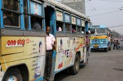 Kolkata autobus Zdjęcia Royalty Free