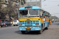 Kolkata autobus Zdjęcia Stock
