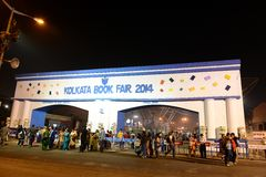 Kolkata Book Fair Royalty Free Stock Photography