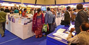 Kolkata Book Fair Royalty Free Stock Photos