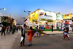 Kolkata Book Fair Royalty Free Stock Images