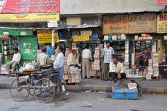 Kolkata Book Market royalty free stock images