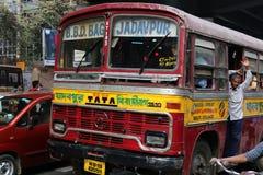 Kolkata-Bus Stockbilder