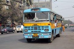Kolkata-Bus Stockfotos