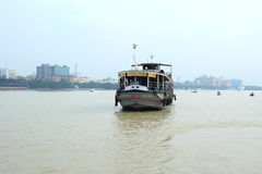 Kolkata ferry service. royalty free stock images