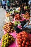 Kolkata fruktmarknad Royaltyfria Foton