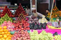 Kolkata fruktmarknad Fotografering för Bildbyråer