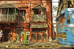 Kolkata, India. City transport in Kolkata, India royalty free stock image