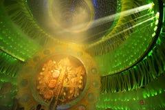 KOLKATA , INDIA - OCTOBER 2, 2014 : Durga Puja festival, decorated pandal Royalty Free Stock Images
