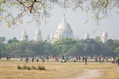 Kolkata Maidan, Kolkata, Kalkutta, Westbengalen, Indien lizenzfreies stockbild