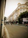 Kolkata parkerar gatan royaltyfria foton