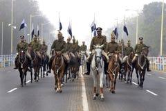 Kolkata Police Mounted Battalion Stock Photography