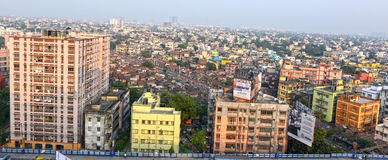 Kolkata stad Arkivbild