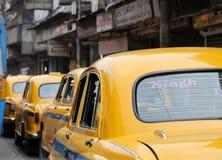 Kolkata Taxi Royalty Free Stock Image
