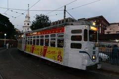 Kolkata Tram Royalty Free Stock Photo