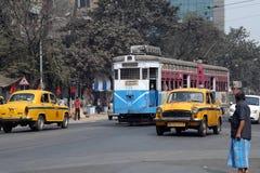 Kolkata Tram Royalty Free Stock Photography