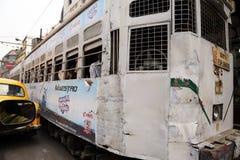 Kolkata tram Stock Photo