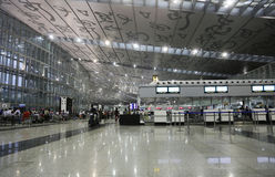 Kolkataluchthaven Royalty-vrije Stock Foto