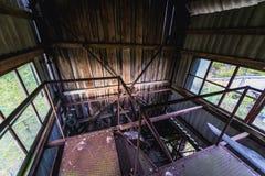 Kolkhoz nella zona di Cernobyl Immagini Stock