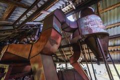 Kolkhoz nella zona di Cernobyl Immagine Stock Libera da Diritti