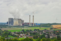 Kolkraftverk Royaltyfri Foto