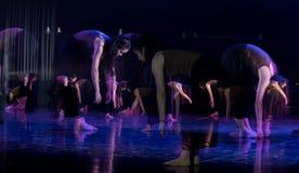 Kollektivismus 5--Tanzdramaesel Wasser erhalten lizenzfreie stockfotos