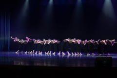 Kollektivismus 11--Tanzdramaesel Wasser erhalten lizenzfreie stockfotografie