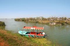 Kolleru lake in India Royalty Free Stock Images