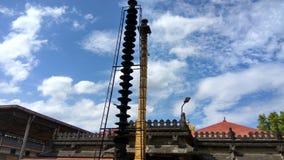 Kollur Mookambika tempel Arkivbilder