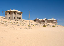 kolmanskop纳米比亚 免版税库存照片