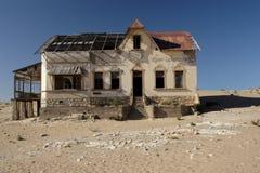kolmanskop纳米比亚 免版税库存图片