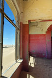 Kolmanskop, Намибия, Африка Стоковая Фотография