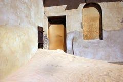 kolmanskop Намибия пустыни заболачивая городок Стоковое Фото