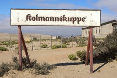 Kolmanskop Royalty Free Stock Images