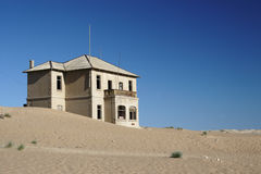 Kolmanskop Royalty Free Stock Photos