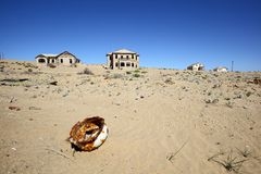 Kolmanskop Ghost Town Stock Images