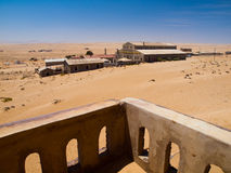 Kolmanskop ghost village Royalty Free Stock Photos