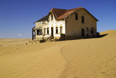 Kolmanskop house 1 Royalty Free Stock Photos