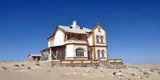Kolmanskop house Stock Photography
