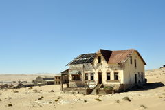 Kolmanskop house Royalty Free Stock Image