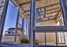 Kolmanskop hus Arkivbild